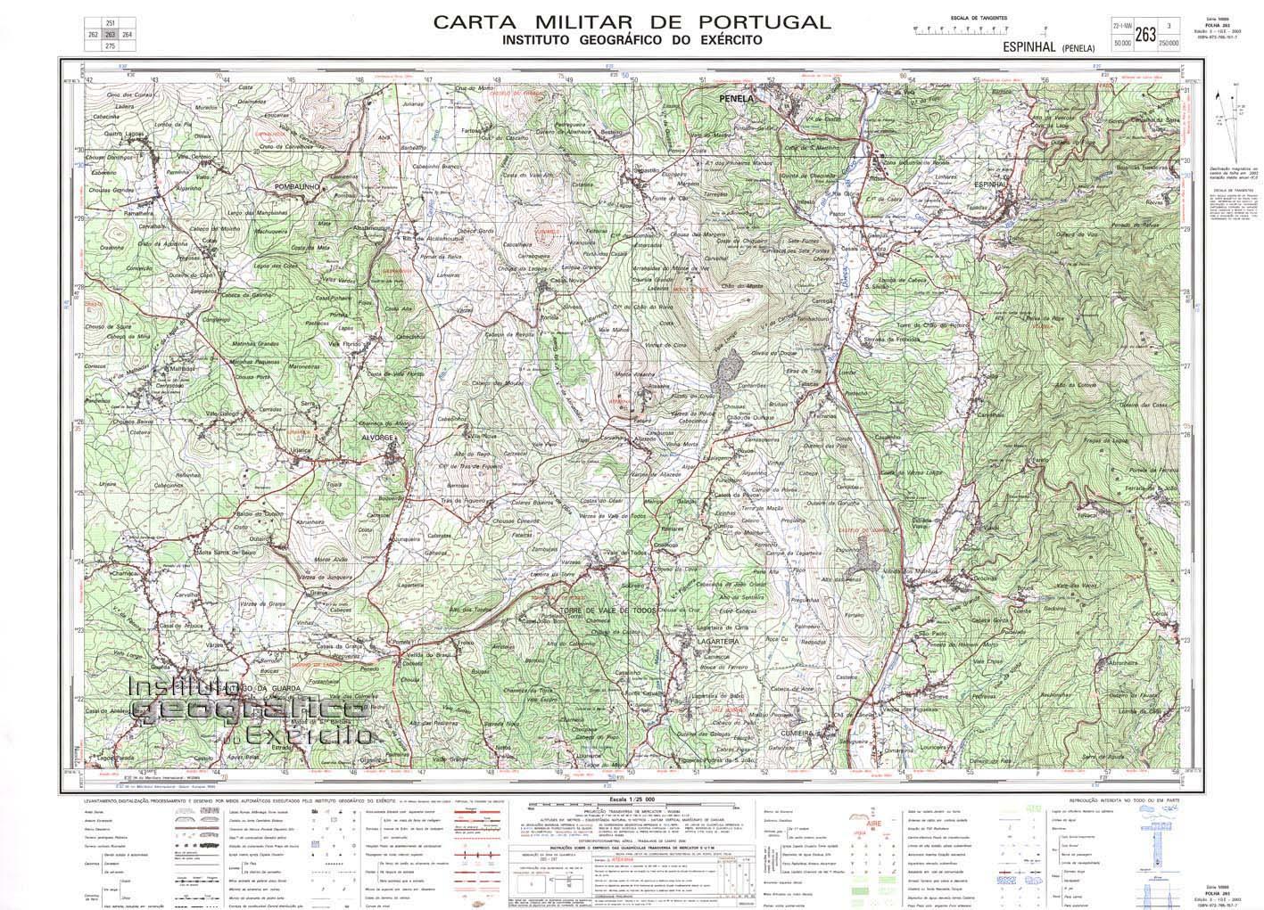 mapa militar portugal NEUA   Sicó mapa militar portugal